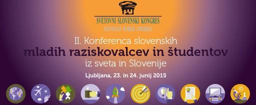 Konferenca slovenskih mladih raziskovalcev in študentov iz sveta in Slovenije