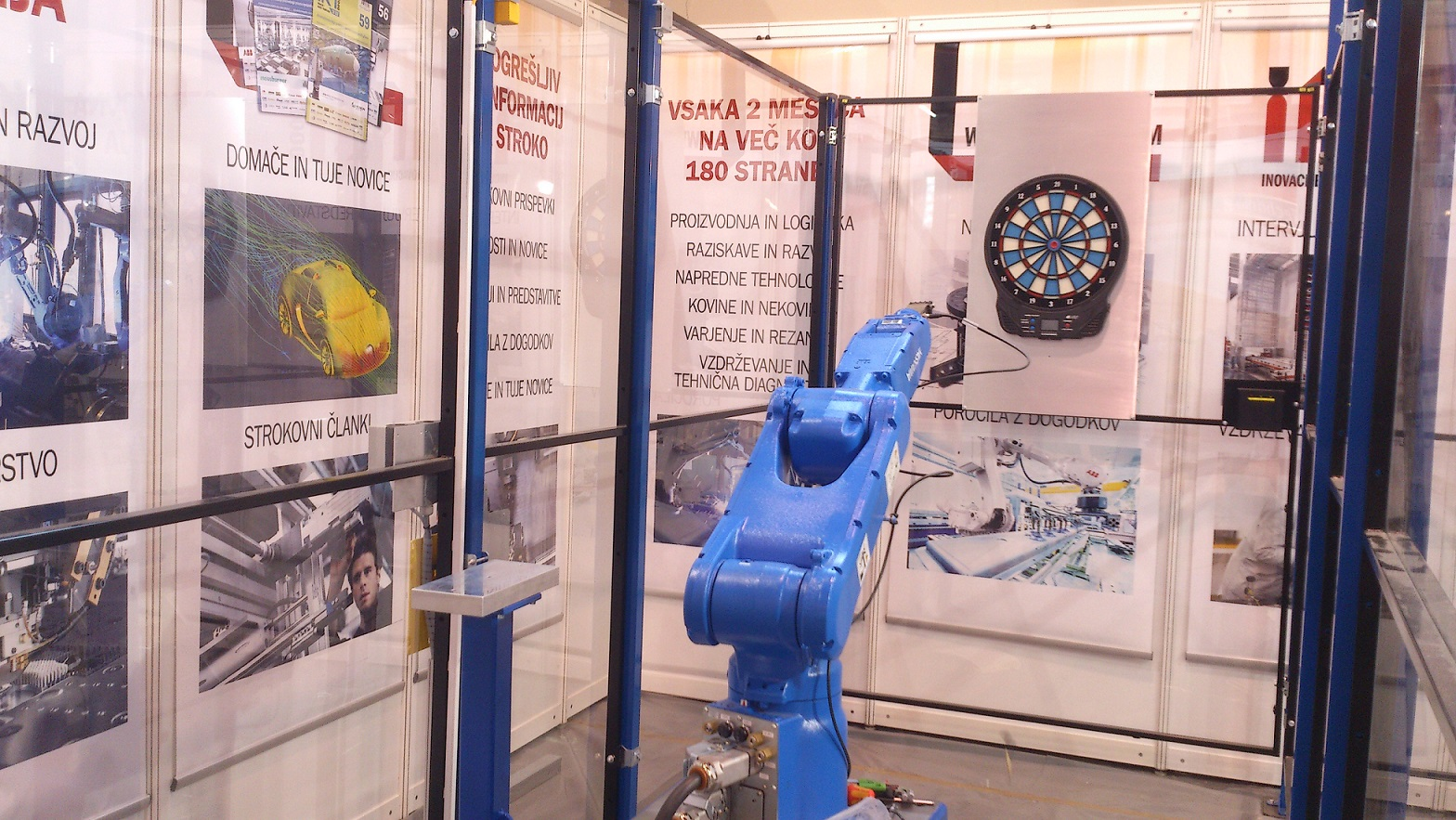 Robot Motoman - pikado