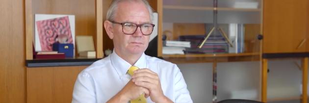 Prof. dr. Danilo Zavrtanik, rektor UNG, Slovenščina danes res ni ogrožena na univerzah