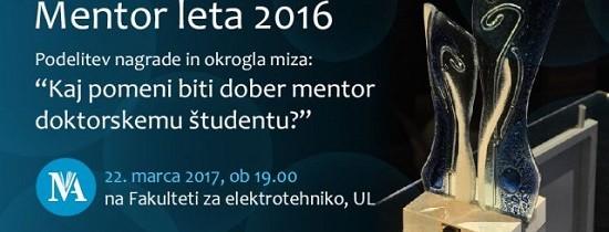 Mentor leta 2016