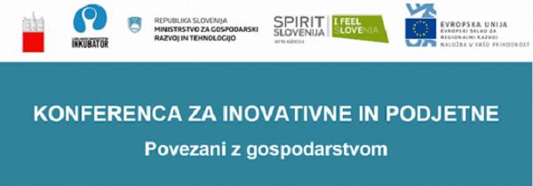 Konferenco za inovativne in podjetne