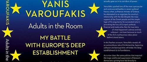 Janis Varufakis: Odrasli v sobi: moj boj z evropskim establišmentom