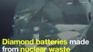 Diamantne baterije iz jedrskih odpadkov s tisočletnim trajanjem