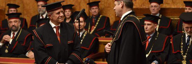 Inavguracija novega rektorja UL prof. dr. Igorja Papiča