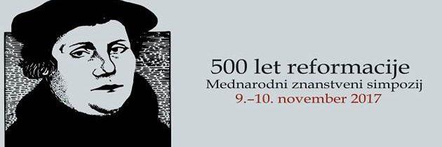 500 let reformacije – mednarodni znanstveni simpozij