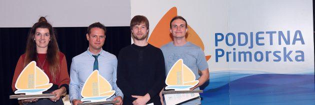 Pameten zimski vrt, Reinkarmika in Pan map zmagovalci natečaja Podjetna Primorska 2017