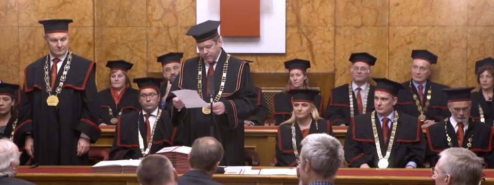 Teden Univerze  2017, Slavnostna seja senata Univerze v Ljubljani