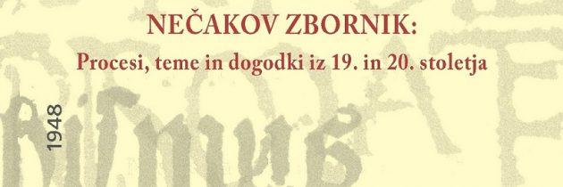 Predstavitev zbornika ob počastitvi jubileja zasl. prof. dr. Dušana Nečaka