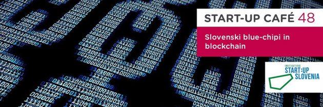 Slovenski blue-chipi in blockchain