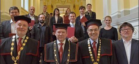 Najvišja umetniška priznanja  Univerze v Ljubljani v letu 2018