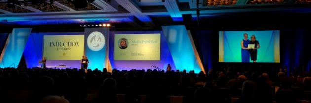 Dr. Majda Pajnkihar postala Fellow of the American Academy of Nursing