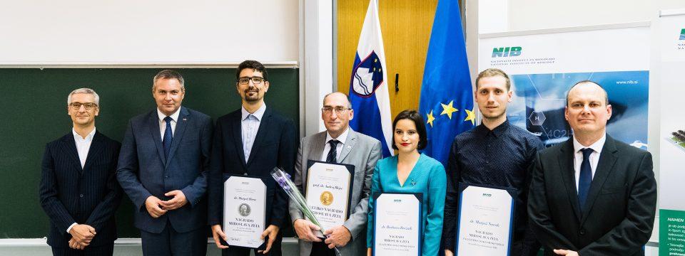 Nagrade in priznanja Miroslava Zeia na NIB