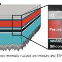 Rekordna tandemska sončna celica z najvišjo učinkovitostjo pretvorbe svetlobne energije v električno