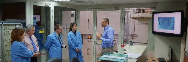 Britanska delegacija obiskala reaktorski center IJS