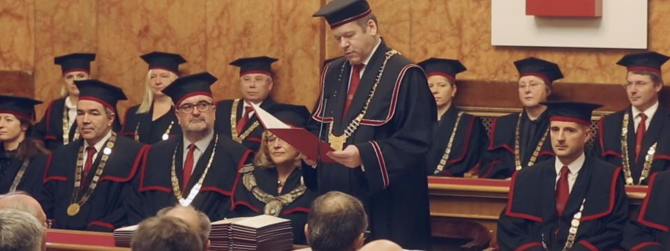 Slavnostna seja Senata Univerze v Ljubljani
