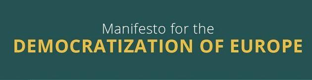 Manifest za demokratizacijo Evrope