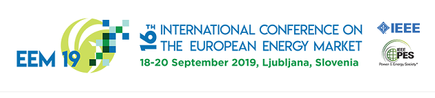 Evropska znanstvena konferenca o energetskih trgih (EEM19)