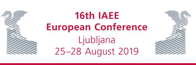 16.IAEE Evropska energetska konferenca na EF UL