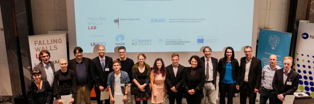 Znani zmagovalci Falling Walls Lab Ljubljana 2019