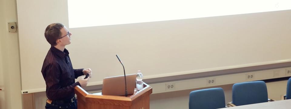 dr. Matjaž Humar, IJS, dobitnik ERC projekta starting grant 2019