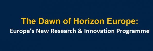 Predstavitev Horizon Europe – novega programa financiranja znanosti, raziskav in inovacij