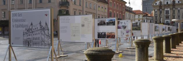 Razstava 100 let Univerze v Ljubljani