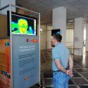 Termovizijska kamera za brezkontaktno merjenje telesne temperature