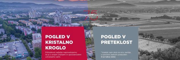 Ekonomska fakulteta Univerze v Ljubljani (Ef UL) ob 75 letnici praznovanja