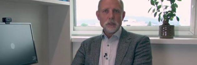Novoizvoljeni rektor UL prof. dr. Gregor Majdič pozval študente k cepljenju