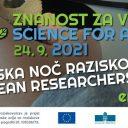 Evropska noč raziskovalcev 2021