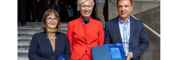 Raziskovalka izr. Prof. dr. Marta Klanjšek Gunde in podjetje GEM motors d.o.o z nagrado Svetovne organizacije za intelektualno lastnino