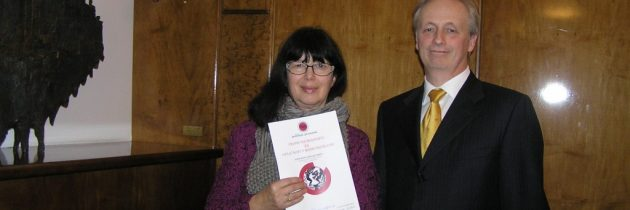 Priznanje SZF novinarki Jasni Kontler Salamon